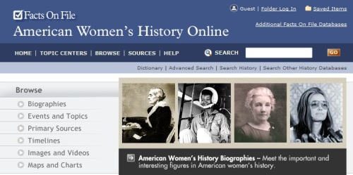 american womens history online