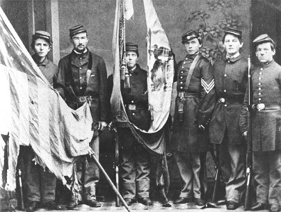 Color Guard Of The First Delaware Regiment Delaware Public Archives