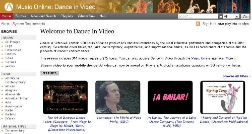 dance in video trial