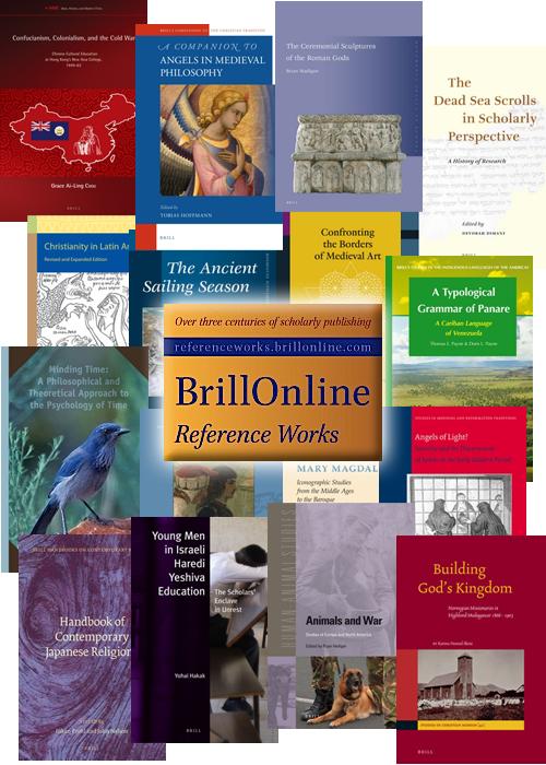 brill ebooks