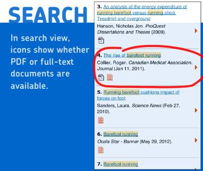 proquest mobile search
