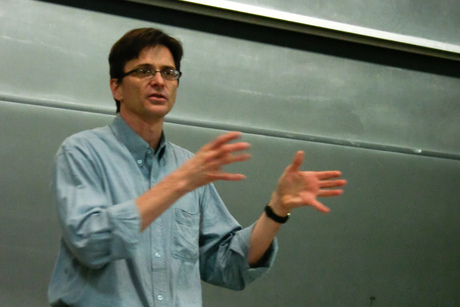 robert jensen lecturing at dartmouth college photo by andy foust