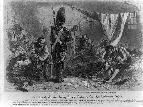 american revolution prisoners of war from library of congress