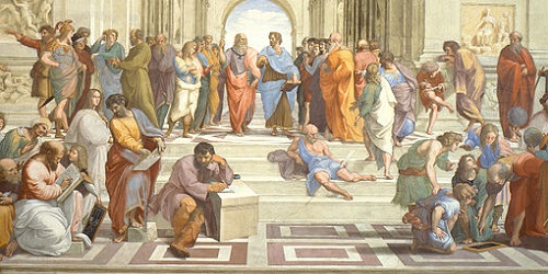 school of athens by raphael