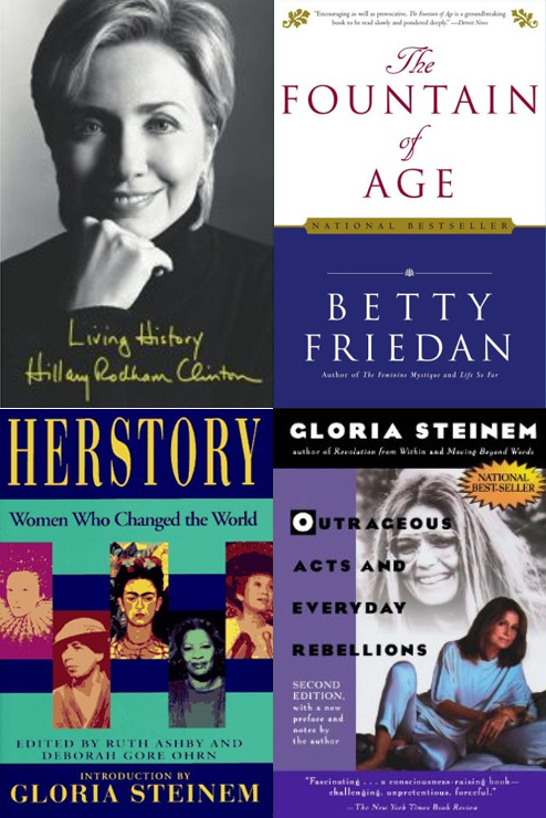 womens history book covers