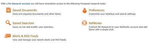 proquest my research