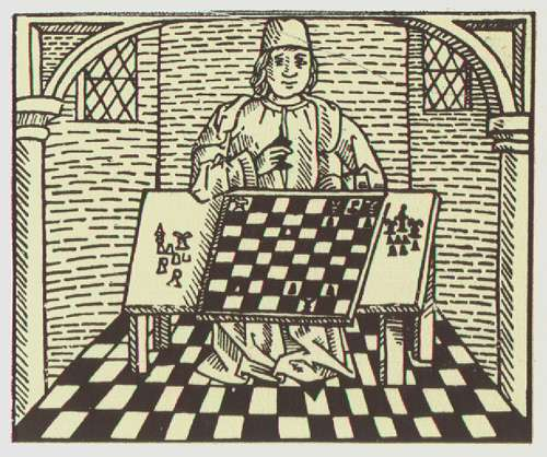 1474 caxton chess woodcut