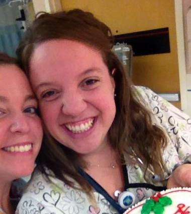Nurse Jen with Ashley