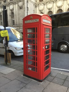cute little telephone booth